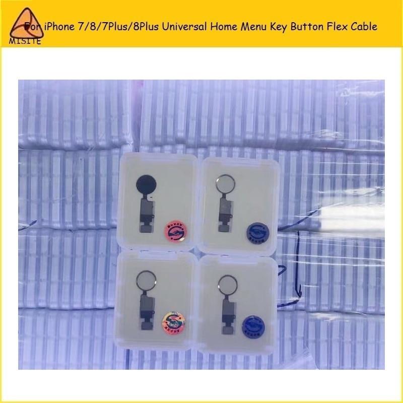25PCS End Edition Universal Home Button Flex For I Phone 7 8 Plus/7P/8P/7G Home Menu Key Return Button Flex With Back Function