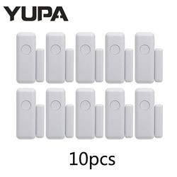 YUPA 433 МГц беспроводной, оконный, дверной магнит сигнализации Сенсор двери детектор для Умный дом безопасности Системы
