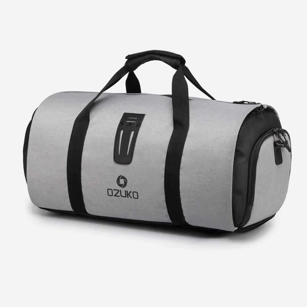 Travel Anti-Theft Backpack For Men Suit Storage Large Capacity Travel Hand Bag Multifunction Waterproof Trip Mochila Shoe Pocket