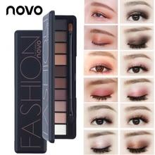 Professional Makeup Brand Earth Color 8 Colors Eyeshadow Palette Glitter Eye Palette Maquiagem Matte