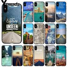 Yinuoda โปสเตอร์ Journeys Coque SHELL สำหรับ iPhone 8 7 6 6S PLUS 5 5S SE XR X XS MAX 11pro MAX Coque SHELL(China)