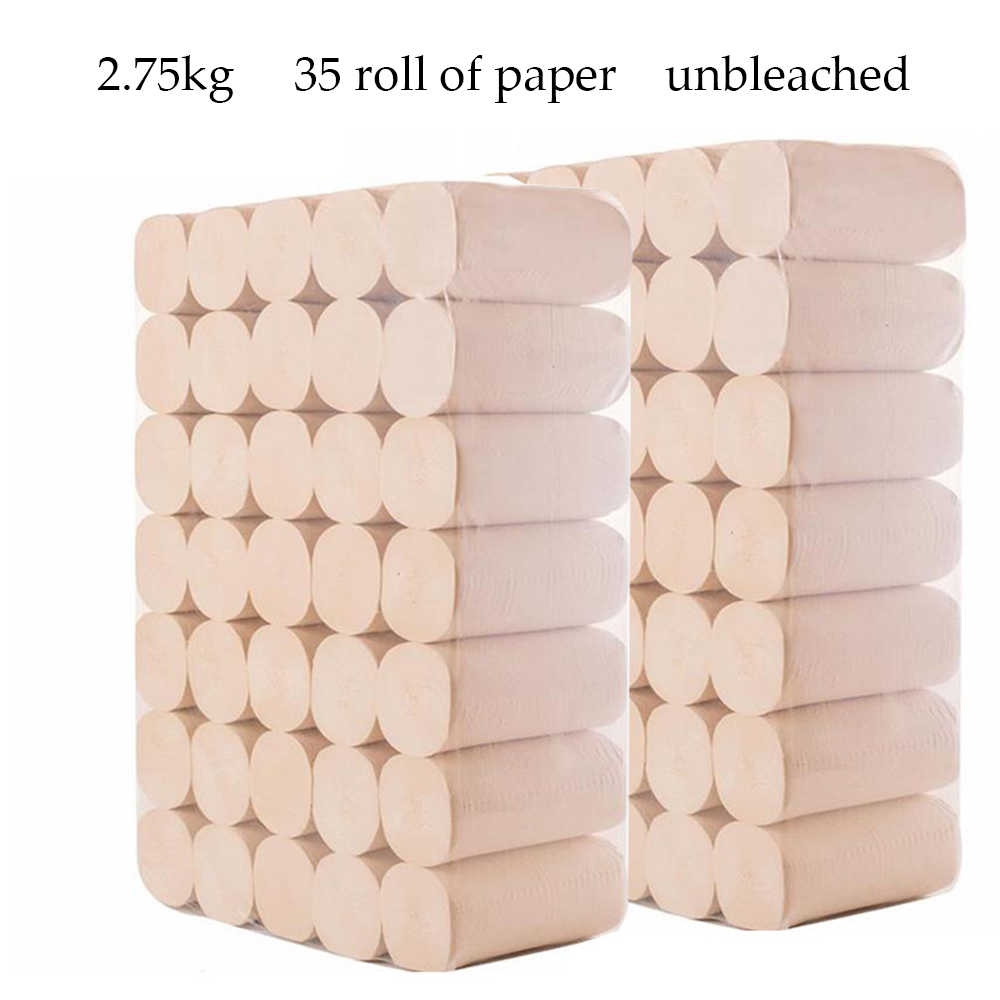 Snow Musen 5.6 56 Roll Paper Towel Color Bamboo Fiber Roll Paper A Generation Of Fat Paper Factory Wholesale Toilet Paper