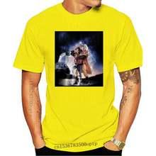 Retour Vers Le Futur Retour In The Mcfly Doc Brown Hauts T-Shirt All Tailles Neuf Hauts De Hip-Hop Hauts T-Shirt