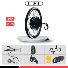 цена на Rear Cassette electric bicycle Conversion Kit 36V 350W Wheel Hub Motor e bike Kit for 16 20 24 26 27.5 28 inch 700C e-bike wheel