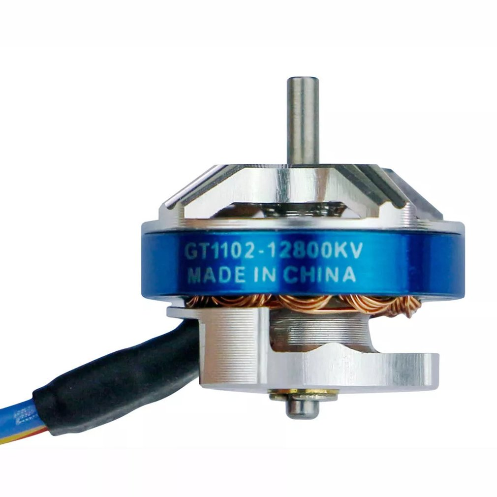 LDARC GT1102 <font><b>1102</b></font> 12800KV Brushless <font><b>Motor</b></font> for TINY GT7 2019 V2 FPV rc Racing Drone 3.1g Aircraft Parts Dron toy Accessories image