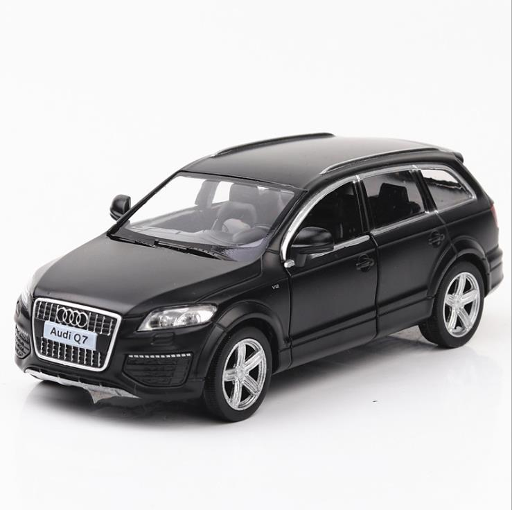 mini audi q7 alloy model acousto-optic