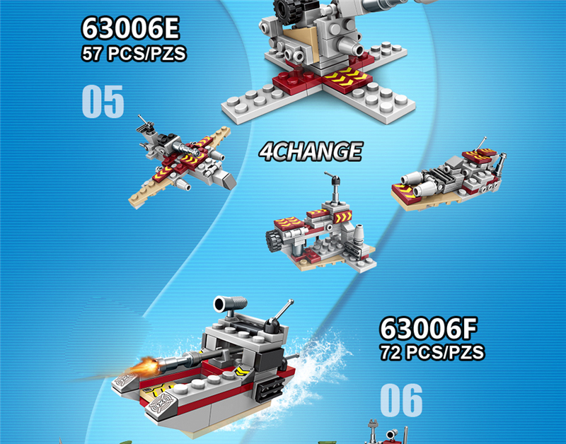 1000+ PCS Military Warship Navy Aircraft Army Figures Building Blocks LegoINGlys Army Warship Construction Bricks Children Toys (23)