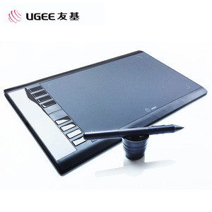 Image 2 - UGEE tableta de dibujo gráfico M708, tableta Digital de 8192 niveles, firma, bolígrafo de dibujo para escribir y pintar, diseño profesional wacom