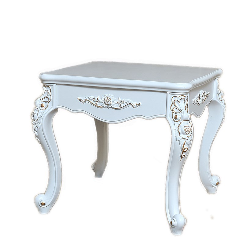Living Room Simple Home American Style Small Table European Sofa Side Cabinet Small Square Table Coffee Table Side Table