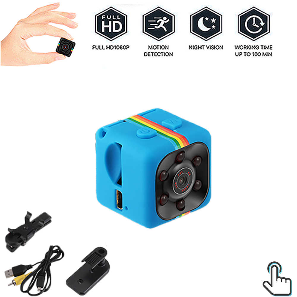 Mini Ip Camera Sport Dv Sensor Nachtzicht Camcorder Motion Dvr Micro Camera Video Kleine Camera Hd 1080P Cam sq 11 Dropshipping