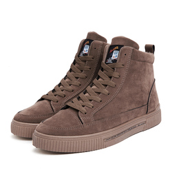 Men Boots Winter Bota Masculina Lightweight Suede Ankle Boots Lace-up Winter Shoes Work & Safety Timber Land Boots