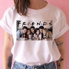 friends tv show women t shirt new hip hop 90s friend tshirt harajuku femme clothes top