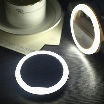 2019 New Selfie LED Ring Flash Light Portable Mobile Phone 36 LEDS Selfie Lamp Luminous Ring Clip For iPhone 8 7 6 Plus Samsung 1