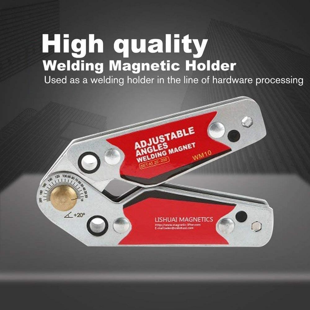 Adjustable Magnetic Welding Locator Magnetic Holder Welding Fixture Corner Right Angle Clamp Welding Positioner Locator Tools