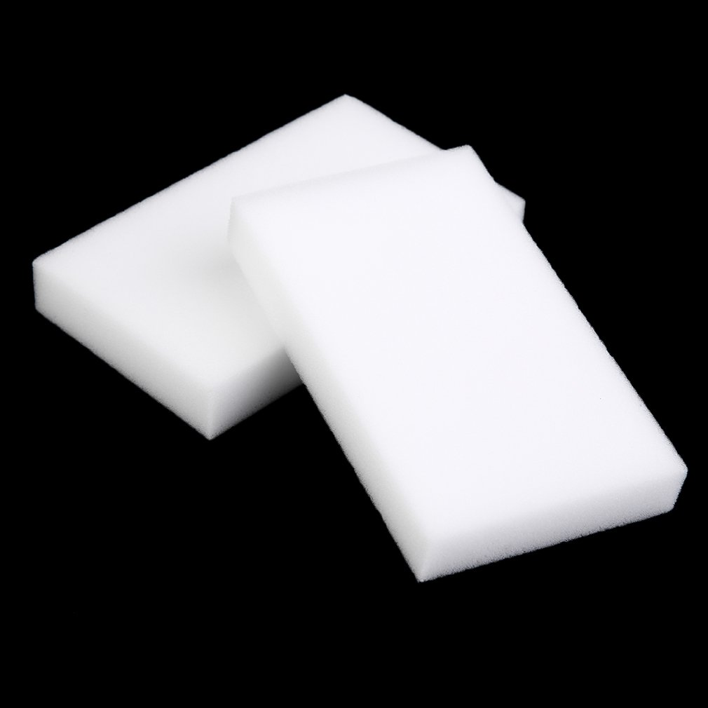 100pcs White Multi-functional Magic Sponge Eraser Cleaner 100 x 60 x 15mm melamine sponge sponges for dishes kitchen sponges