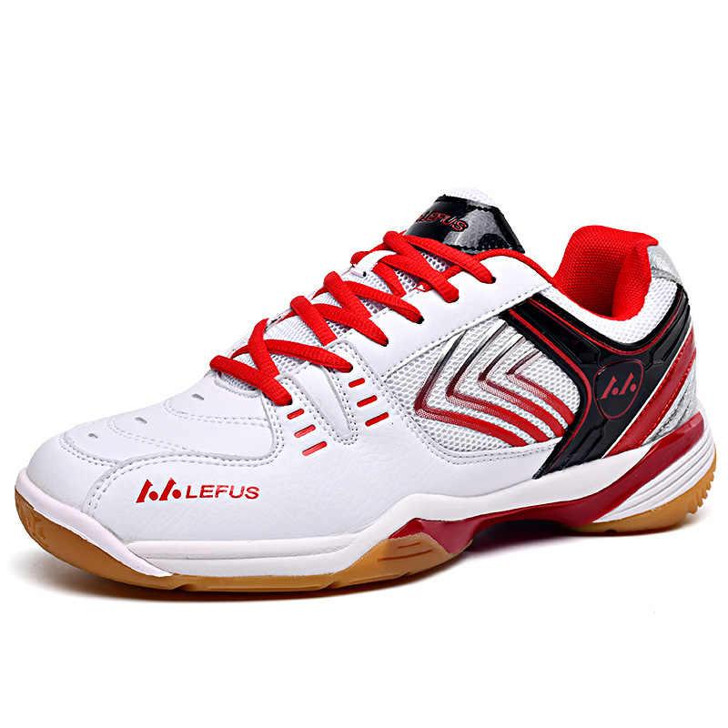 รองเท้าแบดมินตัน Breathable กีฬาลื่นรองเท้าผู้ชายผู้หญิงรองเท้าผ้าใบตารางเทนนิสรองเท้า Zapatillas Deportivas Mujer Masculino