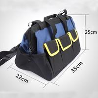 DishyKooker Tool Bag Electrician Tools Carpentry Hardware Repair Portable Storage Organizers Box Toolbox Kitbag