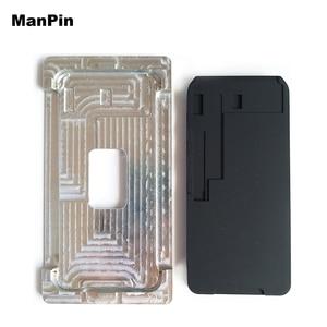 Image 1 - Металлическая Форма для iPhone XS MAX XR, гибкая ламинирующая силиконовая прокладка для ЖК экрана без складок, инструменты для ремонта