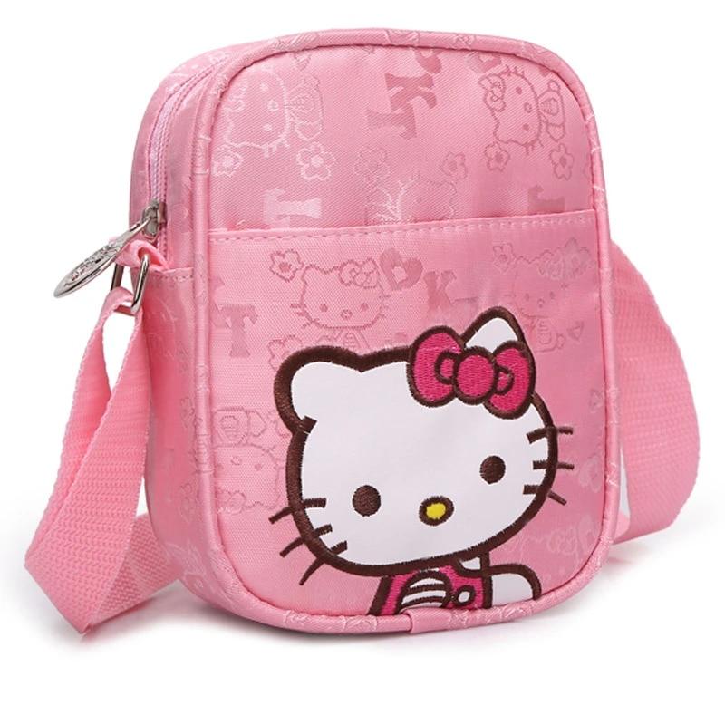 Hello Kitty Girls Crossbody Shoulder Bag Purse Wallet Handbag Kids Gift Toy Kids
