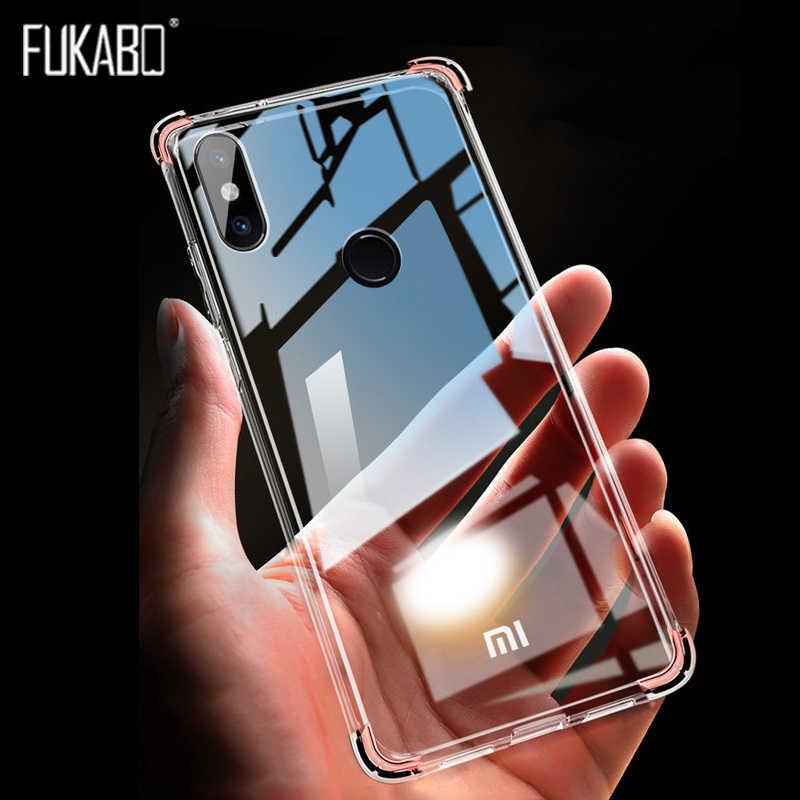 Caso à prova de choque Para Xiaomi Redmi Nota 7 Pro Caso Xiaomi 9 8 SE A2 A1 Lite Para Redmi Nota 5 6 4X K20 Pro 6A 5A 5 Mais Tampa Traseira