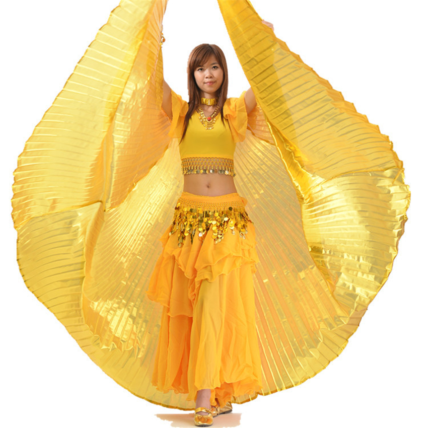 Carnival Costumes Belly Dance Wings Stage Performance Clothing Bellydance Bigdance Skirt Butterfly Peacock Wings Adults