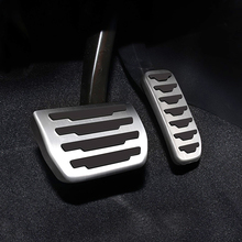 цена на For  Land rover Range Rover Evoque Discovery; stainless steel  foot rest non slipstyling gas pad