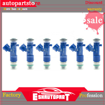 6x 550cc Fuel Injectors For Nissan 63570 14002-AN001