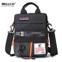 Men's Bag Messenger Bag Male Waterproof Nylon Camouflage Satchel Over the Shoulder Crossbody Bags Handbag Mini Briefcase XA99WC