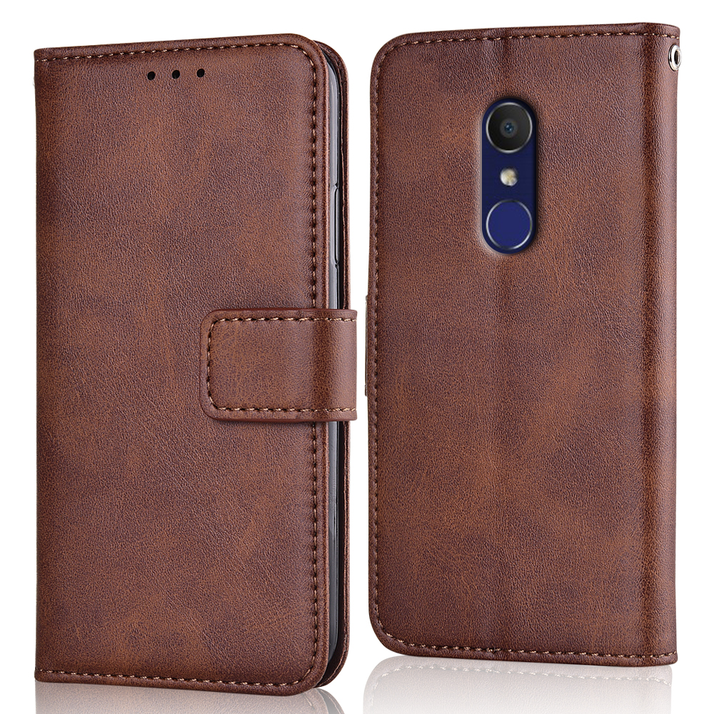 Alcatel 3 5052 5052 Case Slim Leather Flip Cover For Alcatel 3 2018 5052D 5052Y Case Wallet Magnetic Case For Alcatel3 5052