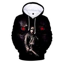 Terminator koyu kader 3D Hoodies Streetwear erkekler/kadınlar/sonbahar yeni moda baskı Hip Hop gevşek Terminator 3D Hoody tişörtü