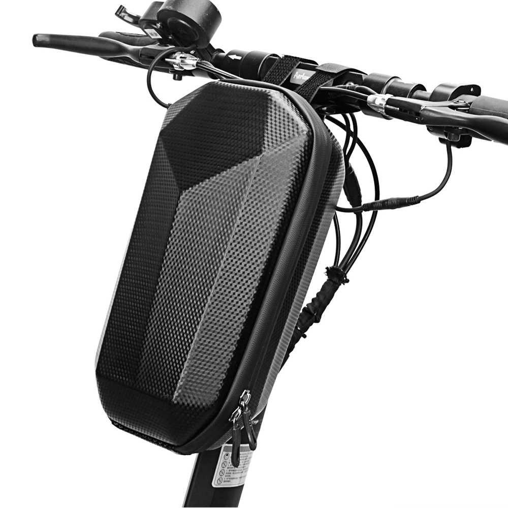 Bolsa De Manillar De Bicicleta Plegable Bolsa De Scooter El/éctrico Con Cremallera Resistente Al Agua Y Revestimiento De PU Bolsa De Manillar De Scooter El/éctrico Bolsa De Manillar De Bicicleta