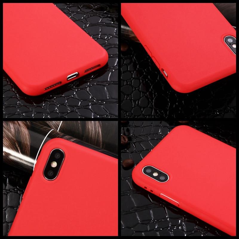XBXCase Candy Χρώμα Θήκη για το iPhone 7 6 6S 8 Plus - Ανταλλακτικά και αξεσουάρ κινητών τηλεφώνων - Φωτογραφία 4