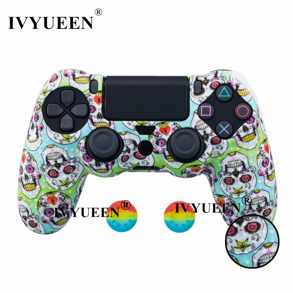 for PlayStation 4 ps4 Pro slim controller silicone case skin 15