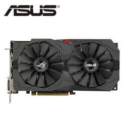ASUS RX 570 4GB Graphics Card GPU AMD Radeon RX570 4GB GAMING Video Cards PUBG Computer Game Screen Map 580 560 550 HDMI VGA DVI