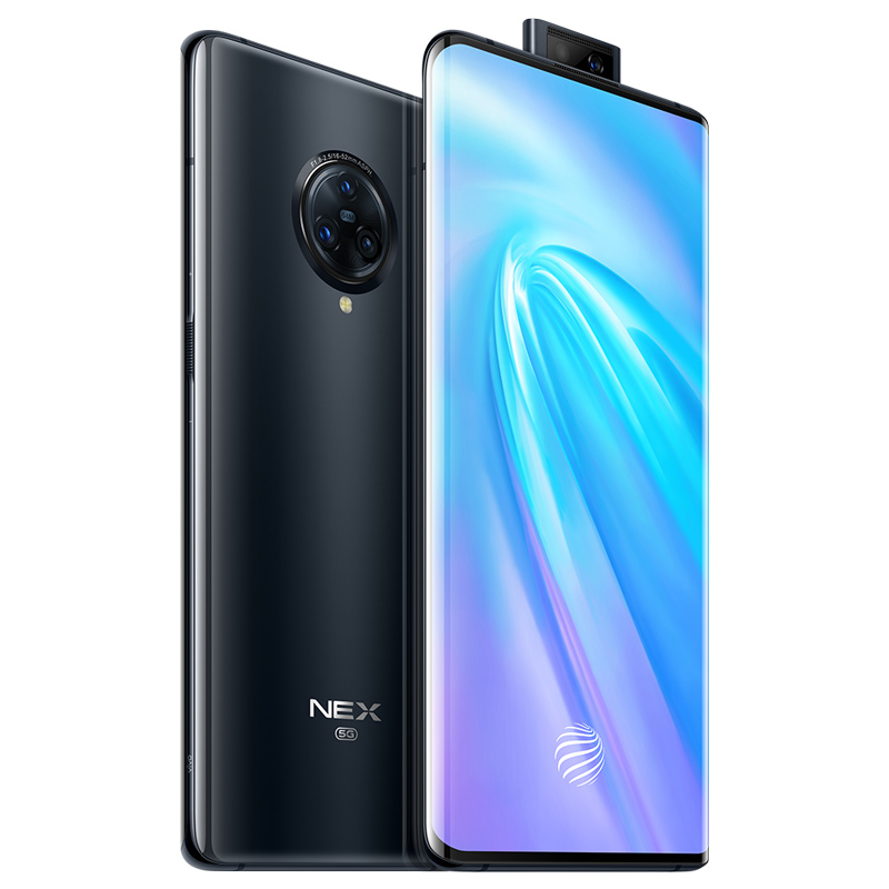 vivo celular NEX3 5G Mobile Phone Android 8GB 256GB Snapdragon 855 Plus NFC 64MP Rear Camera 4500mAh Big Battery 44W Flash Charg