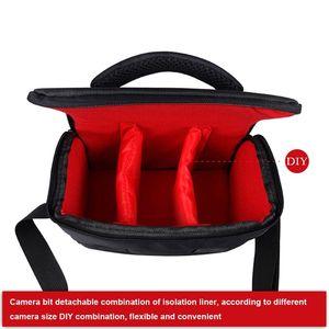Image 4 - Waterproof Waterproof Nylon Camera Shoulder Bag Carrying Case for Canon EOS 77D 70D 80D 4000D 2000D 5D Mark IV III 60D 6D 7D II