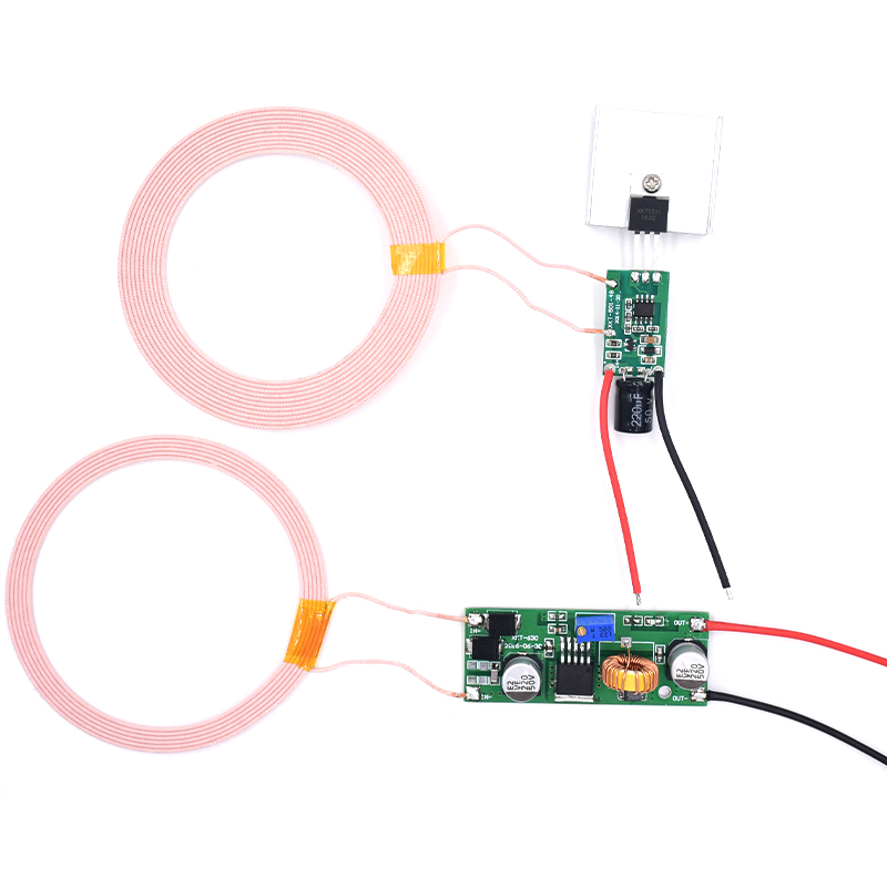 12V2A High Power 8mm-18mm Wireless Power Supply Module Solution Circuit