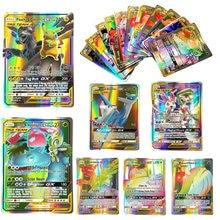 Takara tomy 20 unidades/pacote pokemon brilhando cartões vmax gx ex mega booster caixa inglês negociação jogo de batalha cartão crianças coleção brinquedos