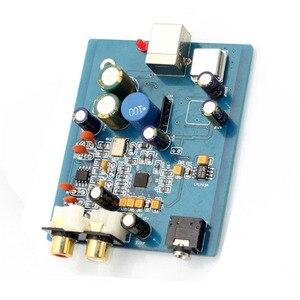 Image 2 - HIFI ES9018K2M SA9023 USB DAC מפענח לוח חיצוני כרטיס קול תמיכה 24Bit 92k עבור אודיו מגבר מודול