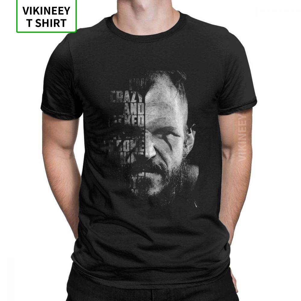 Vikings Valhalla Floki Quote Odin Novelty T Shirt Man's Short Sleeves Tops Summer Style Tee Shirt 100% Cotton Crew Neck T-Shirt