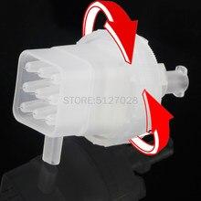 9 pines pinhead de inyección desechable para pistola meso, Cartucho de presión negativa Punta de aguja para EZ mesoterapia al vacío masogun