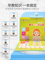 Young children kids point to read audio books audio books early education machine children learn baby educational toys reading