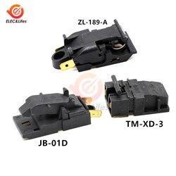 2 шт. TM-XD-3 JB-01D 100-240V 10A 13A натуральная котел электрический чайник с термостатом паровой выключатель ZL-189-A 250V/13A 3.3X2.2 4.3X2.2CM