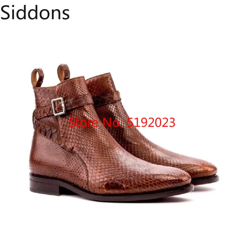 Winter Fashion Men Pointed Toe Zip Ankle Chelsea Boots PU Leather Boots Mens Male Casual Zapatos De Hombre D183