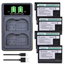 EN-EL15 EN-EL15A Batterij & Led Lader Voor Nikon D500 D600 D610 D750 D7000 D7100 D7200 D800 D800E D810 ENEL15 ENEL15a