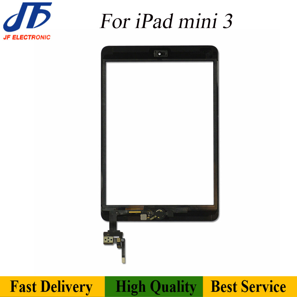 Image 4 - 10pcs/lot  Free shipping For iPad mini 1 2 3 Touch Screen  Digitizer Assembly with home button AssemblyTablet LCDs