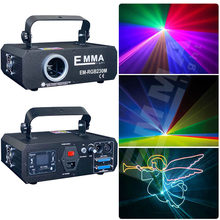 DMX + ILDA + SD + 2D + 3D Multi Warna Mini 1W Rgb, Laser Light/Lampu Dj/Lampu Panggung/Lazer Sinar/Laser(China)