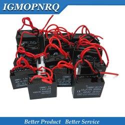 1 pces cbb61 capacitor de partida do ventilador da c.a. 450v cbb motor de corrida capacitor 1uf 1.2uf 1.5uf 2uf 2.5uf 3uf 5uf 10uf 12uf 16uf