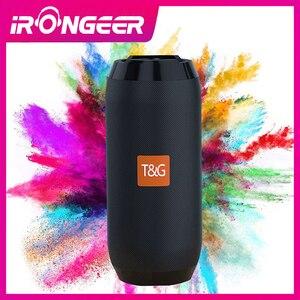 TG117 Bluetooth динамик Портативный беспроводной громкий динамик s для телефона компьютера стерео музыка объемные водонепроницаемые напольные ко...