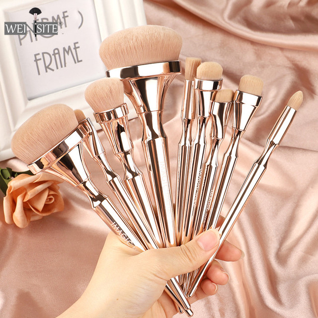 9PCS/set Professional Makeup Brushes Set Eye Shadow Eyeliner Eyelash Eyebrow Powder Brushes For Makeup Foundation Brushes Set